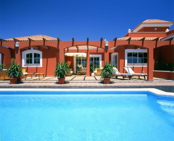 Ville el descanso fuerteventura ville di lusso - Immagini ville con piscina ...